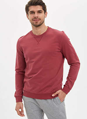DeFacto Basic Regular Fit Sweatshirt